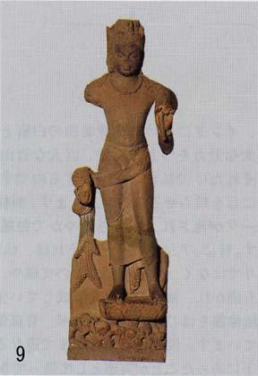 9.サールナート考古博物館「観音菩薩立像」