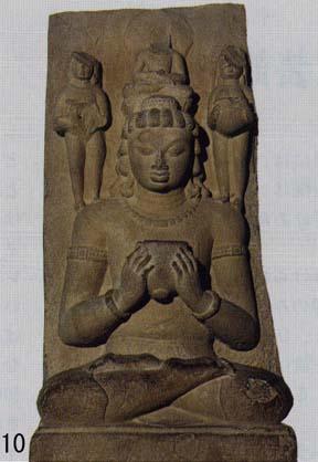 10.サールナート考古博物館「青頸観音菩薩坐像」