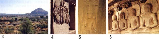 ダウラタバード要塞、オーランガバード石窟、カーネリー石窟、エローラ石窟