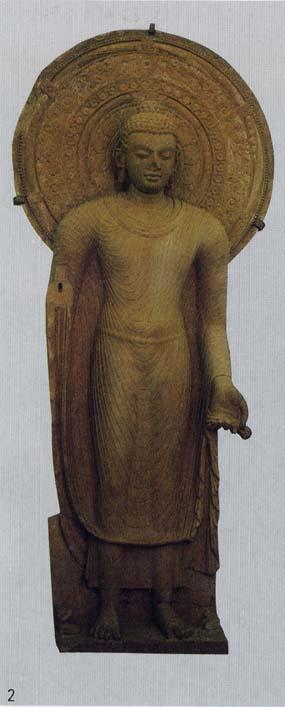 2.マトゥラー博物館「仏立像」