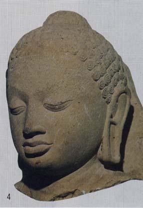 4.サールナート考古博物館「仏頭」