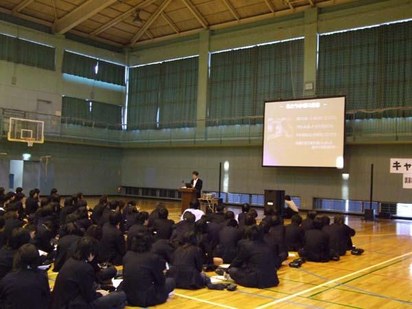立川市昭和第一学園高等学校講演2