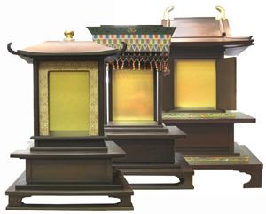 古代厨子3種シリーズ