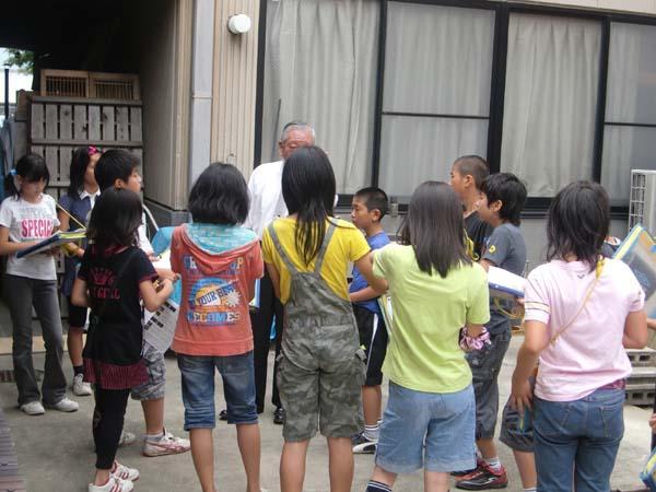 平成22年7月 京都市立百々小学校工房見学