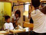 京都市立百々小学校6年生へ取材中